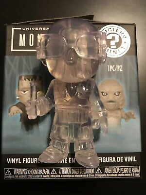 Funko Universal Monsters Walgreens Exc Mystery Mini Invisible Man Clear 1/72 Fig