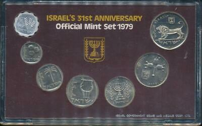 Israel, 1979 Uncirculated Mint set of 7 coins
