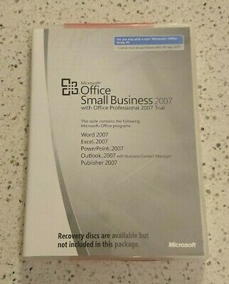 Microsoft Office 2007 Small Business Edition