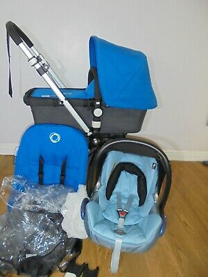 GENUINE  Bugaboo Cameleon 2 Travel System - blue + Maxi Cosi