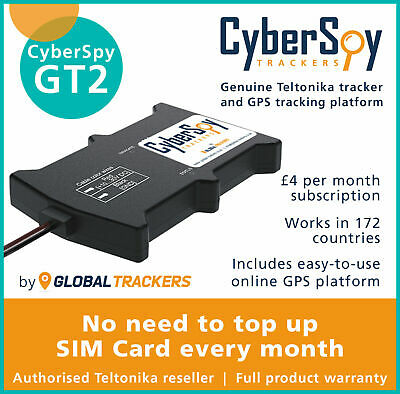 CyberSpy GT2 Car and Motorbike GPS Tracker, Full Vehicle Device Tracking system