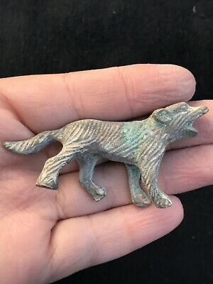 Wonderfull Old Roman Bronze Animal Small Statue