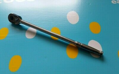 Snap On Trll72 1/4 Drive Ratchet.extra Long Handle..-
