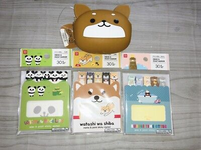 Daiso Japan Cute Goods Stationery Animal Character From Japan F / S #1