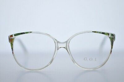 Vintage Spectacle Frame Women's Floral Print Glasses Never Worn - Last One!