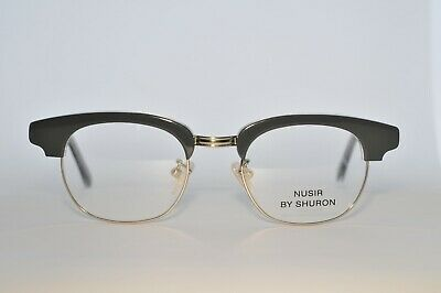 Spectacle Frame Shuron Nusir Grey on Silver 46 x 20 New