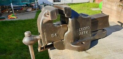 Record No 84 QUICK RELEASE BENCH VICE HEAVY DUTY Quality Tools