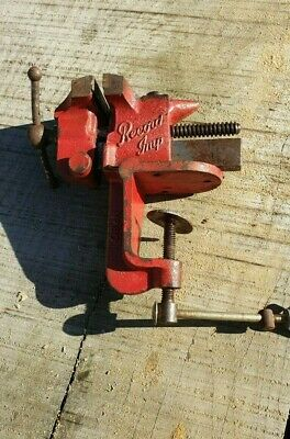 Record Imp Table Mounted Vice Woodworking Engineering Workshop Quality Tools