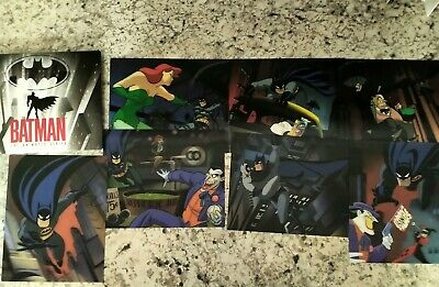 Batman The Complete Animated Series (7 Exclusive Lenticular Artwork Cards ONLY)