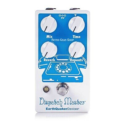 EarthQuaker Devices Dispatch Master V3 Digital Delay Reverb