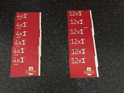 1st Class Royal Mail Stamps And 1st Class LARGE Postage Stamps NEW AND UNUSED