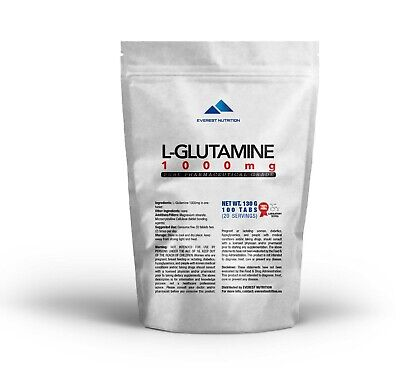 GLUTAMINE 1000 mg COMPRIMÉS PURE PHARMACEUTIQUE DE QUALITÉ ANTICATABOLIQUE