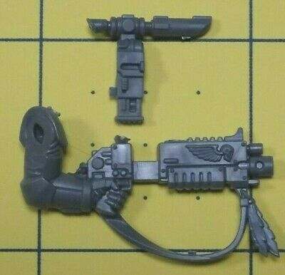 Warhammer 40K Space Marines Raven Guard Primaris Upgrades Bolt Rifle