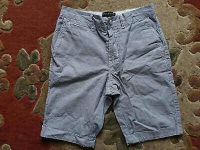 """Lyle & Scott Mens Striped Casual Shorts 28"""", Top Cargo Chino Sport Gym Indie Mod"""