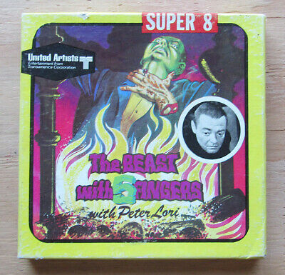 Beast With Five Fingers - Super Eight Film - Peter Lorre - Free Shipping