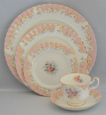 Royal Albert Serenity 5 piece Place Setting ( 8 Available )