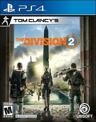 Tom Clancy's The Division 2 -- Standard Edition (Sony PlayStation 4, 2019)