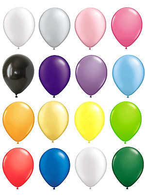 10 Large Latex Pearlised Birthday Wedding Party Baloons Ballons Balloons