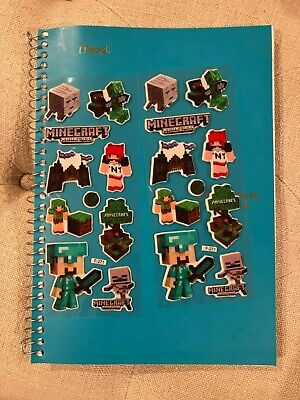 Mine Craft Bubble Stickers 9 per pack x 3 packs