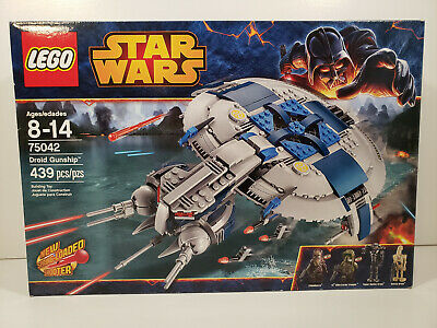 LEGO Star Wars 75042 Droid Gunship Brand New Sealed Retired 2014