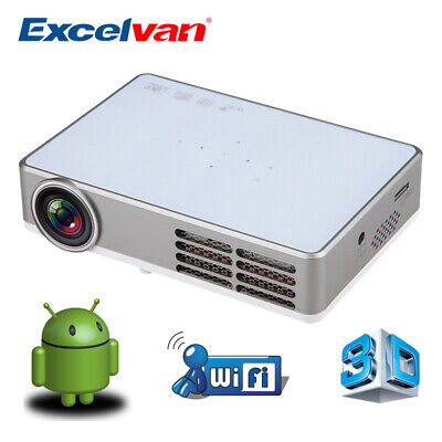 PROJECTOR excelvan dlp-300w 3D ANDROID USED