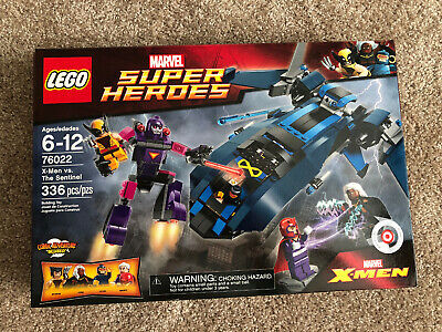 LEGO Marvel Super Heroes 76022 X-men Vs Sentinel NEW