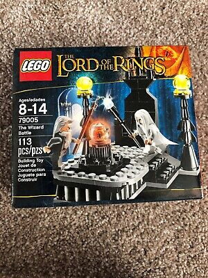 Lego The Lord of the Rings The Wizard Battle Set # 79005 Factory Sealed!