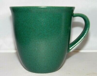 Hoganas Keramik Green Stoneware Coffee Mug Cup Sweden Collection M-L Hellgren