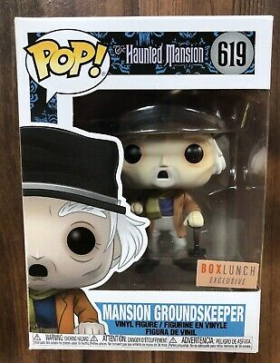 FUNKO POP HAUNTED MANSION SERIES GROUNDSKEEPER BOX LUNCH EXCLUSIVE see desc