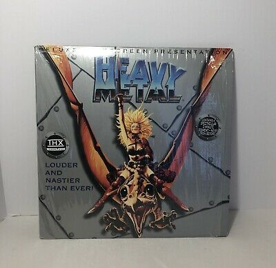 Heavy Metal (Deluxe Widescreen Laser-Disc) Louder & Nastier Than Ever!