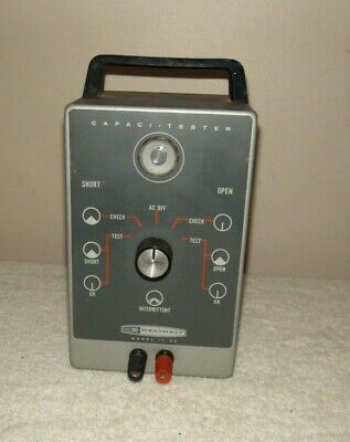 HeathKit Capaci Tester Model IT-22