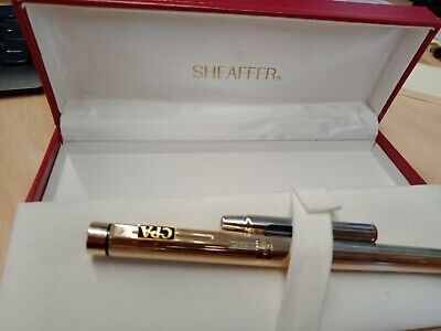 Fountain pen Sheaffer vintage, gold plated, a nice case