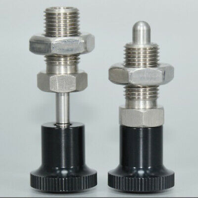 Thread Stainless Steel Self Lock-out Type Indexing Plunger Pin Vary Size