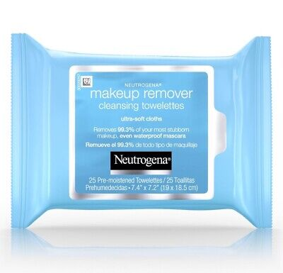 lot of 6-Neutrogena Makeup Remover Cleansing Towelettes Face Wipes 150 Ct ea. A3