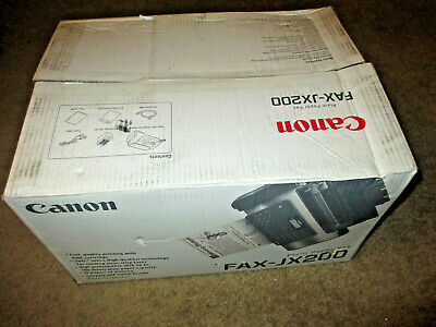 New Canon Personal Fax Phone and Copier FAX-JX200