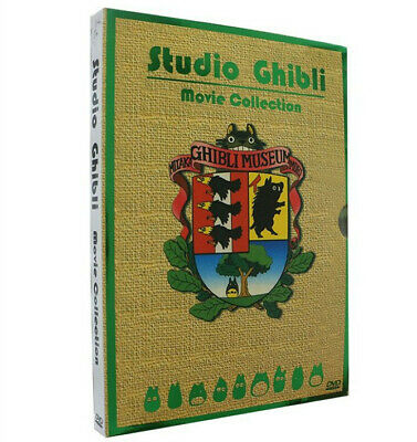 Hayao Miyazaki & Studio Ghibli Deluxe 17 Best Movie Collection 6 DVD Box Set US