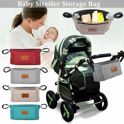 Waterproof Travel Baby Care Hanging Bag Pram Organizer Infant Baby Stroller Bag