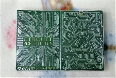 1 DECK Circuit (PCB) Playing Cards editions-S103049698-甲G4