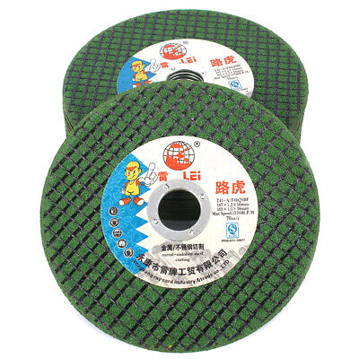 """10Pc 4Inch Resin Cutting Disc Metal Cut Off Wheel with 5/8"""" Bore For Rotary Tool"""