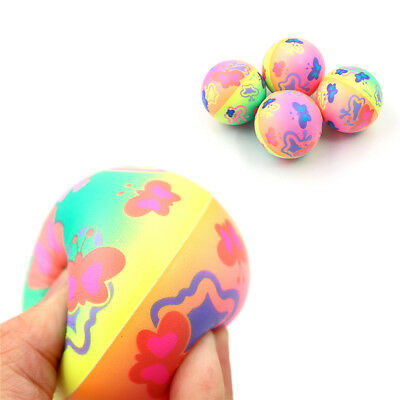 1PC Stress Relief Vent Ball Butterfly Squeeze Foam Ball Hand Relief Kids Toys KQ