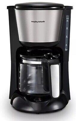 Morphy Richards Equip Filter Coffee Maker 162501 1000 W 1.2 litres New