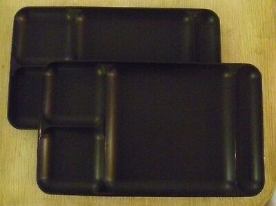 Tupperware Set 2 New Divided Tray Lunch TV Combine Shipping