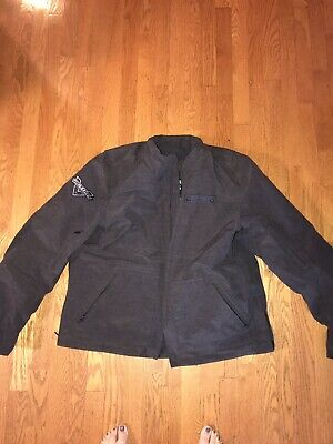 286618202 Small Victory Motorcycle New OEM Men/'s Black Bagger Riding Jacket