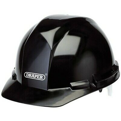 Draper 65706 Black Safety Helmet to EN397