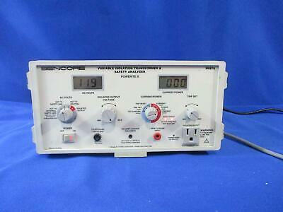 Sencore PR570 Powerite II Variable Isolation Transformer & Safety Analyzer