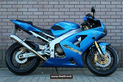 Kawasaki Zx-6R 636 Bh1 2003 53 - Blue - Nationwide Delivery