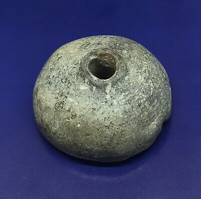Ancient Old Agate Roman Period Egyptian Faience Bead