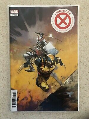 Powers of X #1 Mike Huddleston 1:10 Variant Cover Marvel Comics NM/M Unread