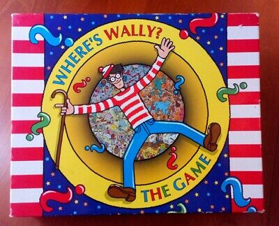 Where's Wally? The Game - Board Game - Bizzare Games - 1996