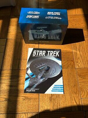 Star Trek USS Vengeance Eaglemoss Special Issue with Magazine